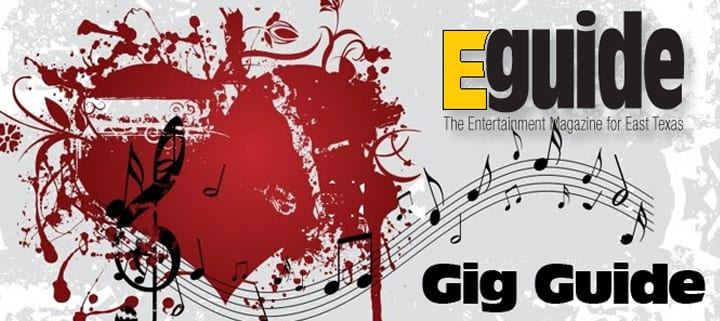 eguide live music guide tyler tx blues rock christian