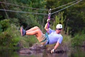 Adrenaline Rush Zip Line Tour tyler tx
