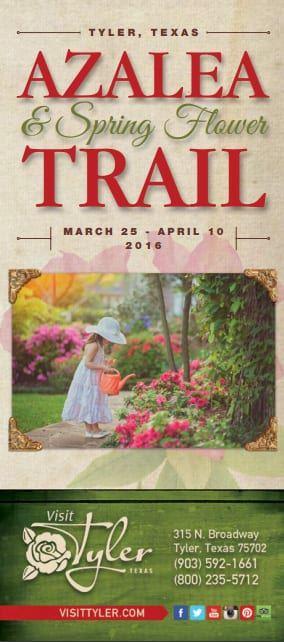 azalea trail brochure front