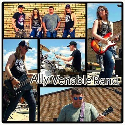Ally Venable Band tyler tx eguide blues live music 4