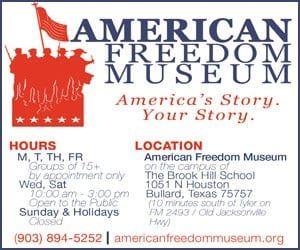 american-freedom-historic-museum-bullard-tyler-tx