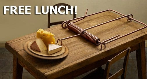 Image result for no such thing as a free lunch