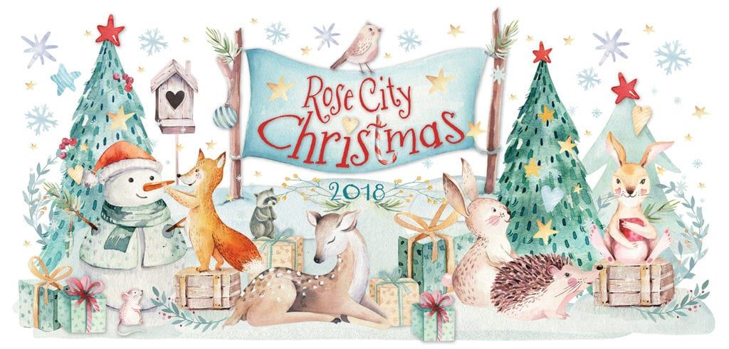 its a rose city christmas - Rural King Christmas Decorations